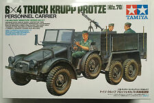 Tamiya 35317 1/35 6x4 Truck Krupp Protze Kfz.70 Personnel Carrier Model Kit NIB