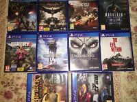 PLAYSTATION 4 JUEGOS GAMES JEUX SPIEL PS4
