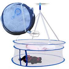 2-layers Folding Clothes Drying Rack Underwear Socks Coat Basket DIY Hanging Net
