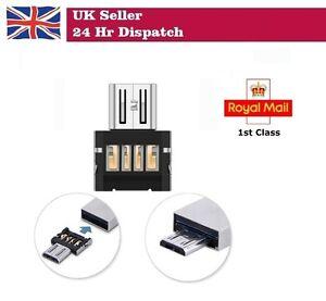 2 x USB to microUSB OTG Converter Shim for Raspberry Pi Zero