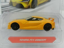 1:64 JADA TOYS *JDM TUNDERS* Yellow TOYOTA FT-1 Concept *NIP*