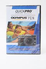 QuickPro Camera Guides Olympus Pen Digital  DVD Instruction manual Disc Tutorial