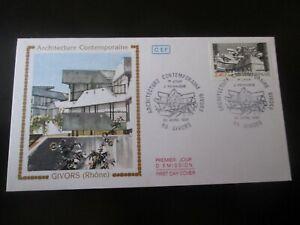 enveloppe premier jour 1985 architecture contemporaine givors rhone