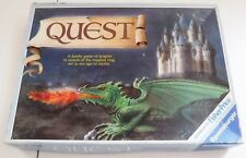 Vintage 1985 Quest Family Board Game of Knights Magical Ring Age of Myths Spares