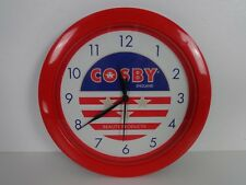 Beauticians Wall Clock Round Advertising Battery Operated Cosby Beauty Products