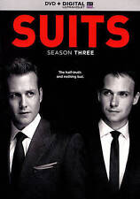 Suits: Season Three (DVD, 2014, 4-Disc Set)