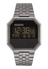 New Nixon Re-Run Digital Watch All Gunmetal