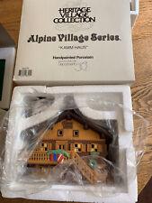 """Department 56 Alpine Village: """"Kamm Haus"""" #56171 Mib"""