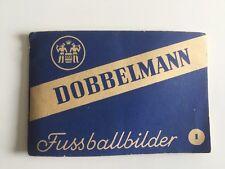 Dobbelmann Sammelheft Nr 1 Fussball Sammelbilder Selten TABAK blau 1950 Jahre