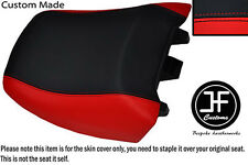 RED BLACK VINYL CUSTOM FITS BMW R 1150RT 00-06 & R 1100RT 94-01 REAR SEAT COVER