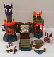 Fisher-Price Imaginext Dragonmont's Fortress Castle Dragon Not Complete RARE HTF