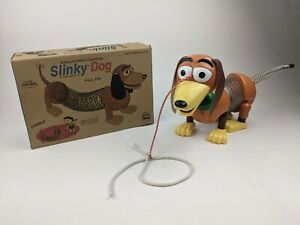 Slinky Dog Collector's Edition Vintage Toy with Box Metal Pull Toy The Original