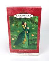 Hallmark Scarlett O'Hara Keepsake Ornament 2000 Green Dress 4th in Series