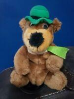 "Vintage 1980 Yogi Bear Hanna Barbera 9"" Stuffed Plush Animal Doll"
