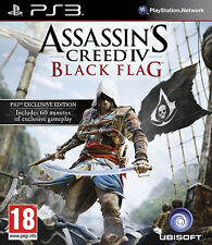 Assassins Creed 4 Black Flag PS3 * En Excelente Estado *