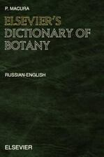 Elsevier's Dictionary of Botany: Russian-English-ExLibrary