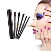 Pinceaux de maquillage voyage kit 5 Pcs finition professionnelle eyeliner paupiè