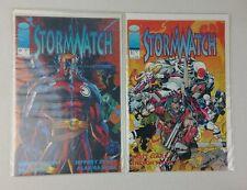 Image Comics STORMWATCH Vol.1 #0 & #1 Wildstorm 1993