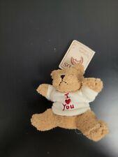 *Rare* Boyds Mini Message Bear - I Love You