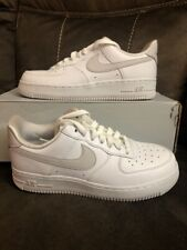 Nike Air Force 1 '07 LX SE Leather Women's White Trainers AA0287-102 Size 10