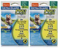 2 Pack - Hartz - UltraGuardPro Flea & Tick - Dogs Weighing 5-14 lbs - 3 Month