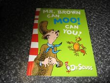 MR BROWN CAN MOO! CAN YOU? BY DR SEUSS BRAND NEW SOFTCOVER
