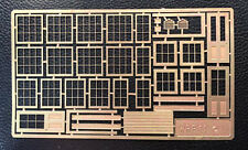 Finecale etched brass windows early GWR Signal Box or general purpose use. 2mm N