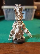 Ultramarines Captain Sicaruis Lightning Claws Rare Promo Metal OOP Warhammer 40k
