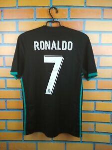 Ronaldo Real Madrid Jersey 2017 2018 Away S Shirt BR3543 Soccer Football Adidas