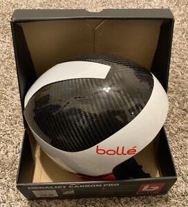 Bolle Medalist Carbon Pro Snowboard Ski Helmet L/XL 57-60cm Weight 540 +/- 50g