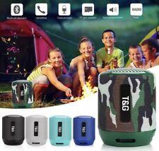 Mini Bluetooth Speaker Wireless Waterproof Outdoor Loud Stereo Super Bass USB/FM