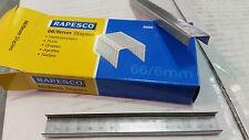 Rapesco 66/6 punti metallici per Rapesco 826el CUCITRICE. 4 scatole!!! CODICE s66600z3