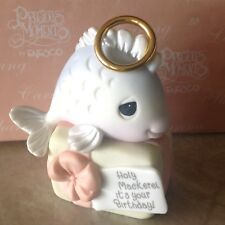 Precious Moments Figurine HOLY MACKEREL IT'S YOUR BIRTHDAY 2001 with Box