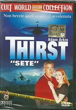 "Thirst ""Sete"" (1998) DVD NUOVO SEALED Adam Arkin Joely Fisher Giancarlo Esposito"