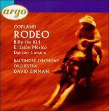 Copland: Rodeo; El Salon Mexico; Danzon Cubano; Billy The Kid (CD, BMG, Argo)