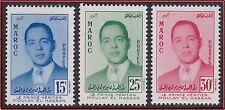 1957 MAROC N°377/379** Prince Moulay Hasssan, 1957 MOROCCO Set MNH