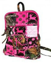 Western Mossy Oak Tree Camo Backpack DEER Embroidery Chevron Patchwork MONOGRAM
