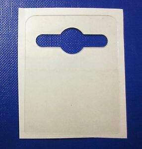 1000  42 x 52 Self Adhesive Hanging Tabs Euro,Slot, Hook HangTab