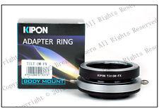 Kipon Tilt Adapter for Olympus OM lens to Fujifilm Fuji X-PRO1 X-E2S X-T2
