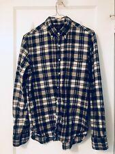 Beams Madras Plaid Button-down Shirt Men's Size S