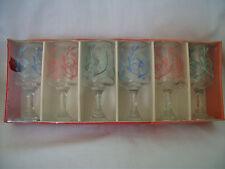 Boxed Set of 6 Vintage (1960s/70s) Glasses – Ref 1396