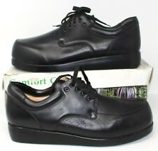 4d927f46bb38 Mt. Emey Black 801 Oxfords Men s Therapeutic Additional Extra Depth Shoe 16D