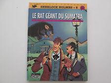 SHERLOCK HOLMES EO1995 TBE/TTBE LE RAT GEANT DU SUMATRA