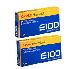 NEW 10 Rolls Kodak E100 120 EKTACHROME 120 Middle Format Color Slide Film11/2021