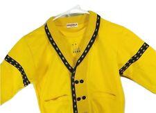 Angerella Korea Child Yellow Stars Cardigan Sweater