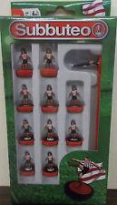 SUBBUTEO CALCIO BALILLA ~ Rosso Bianco a Righe Team ~ Sunderland Stoke Paul Lamond