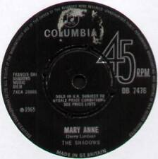 "OMBRE ~ Mary Anne/CHU-CHI ~ 1965 UK 7"" SINGOLO ~ COLUMBIA DB 7476 [Ref.2]"