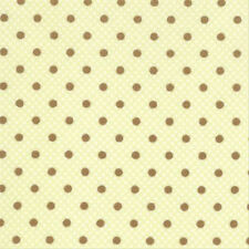 Moda Bunny Hill Designs Lily & Will Dimples Dots Fabric in Green 2804-16 1yd