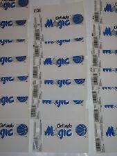 "ORLANDO MAGIC NBA Lot of (3) Reusable Static Cling Decals ""NEW"""