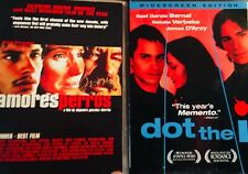 Two Gael Garcia Bernal Award Winners! Dot The I and Amores Perros Two Dvds!